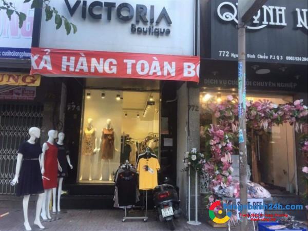 Cần sang shop mặt tiền đường Nguyễn Đình Chiểu, giáp quận 1,5,10.