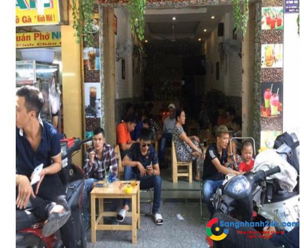 Sang nhanh quán cafe mặt tiền đường QL13, quận Thủ Đức.