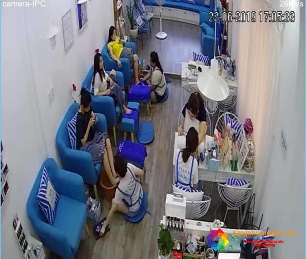 Sang tiệm tóc - nail