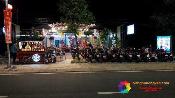 Cần sang nhượng mặt bằng khu vui chơi và quán cafe tại thành phố Bến Tre.