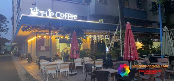 Sang quán cafe nằm ở chung cư Besco An Sương, đường Song Hành, phường Trung Mỹ Tây, quận 12.