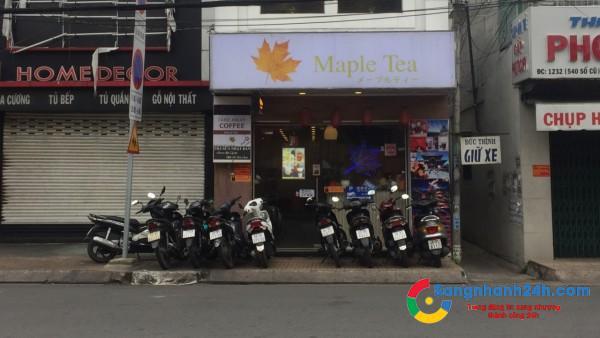 Cần vốn kinh doanh dự án mới, sang nhanh quán trà sữa đang kinh doanh tốt, cạnh trường học, đối diện bệnh viện.
